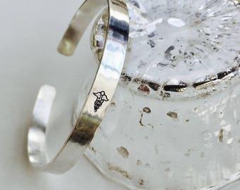 Medical Alert Bracelet, Medical Alert Cuff, Medical ID Bracelet, Silver Medical Alert Bracelet, Gold Medical Alert Bracelet, Silver Cuff