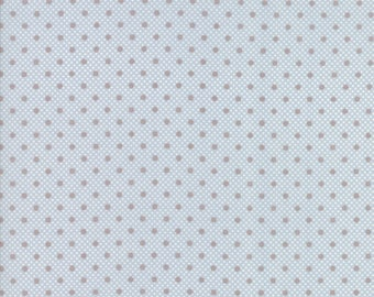 Lily Will Revisited Blue Gray fabric | Moda 2804 25 | Cotton Quilting fabric