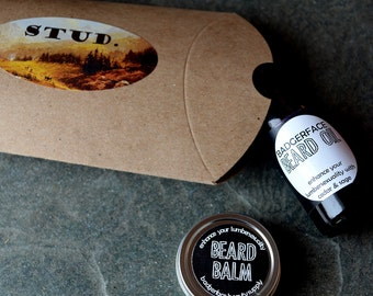 Beard Oil and Balm. Stocking Stuffers for Boyfriend. Funny Boyfriend Gift. Funny Gift for Boyfriend. Stocking Stuffer for Men. Men Stocking