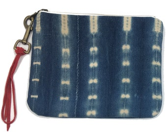 Large Pouch African Indigo | JACOB