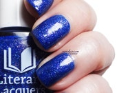 The Happy Prince - Sparkling sapphire blue nail lacquer - February Pop Up Pre-Order