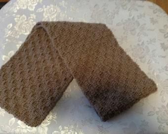 Handmade Crochet scarf nice and soft  7 x 55 or 5 1/2 x58 your choice.