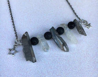 Aroua Quartz Necklace