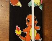 Pokémon Card Keeper/Wallet: Charmander and Pikachu Free Shipping