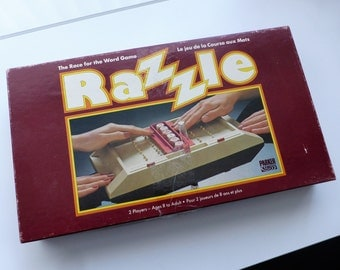 1981 Razzle -The Race for the Word Game