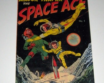 Vintage (1951) Promotional Comic Book - Major Inapak Space Ace