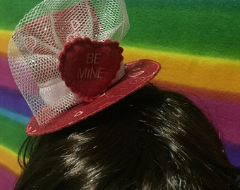Valentine's Day Mini Top Hat