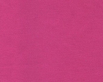 10 oz Preshrunk Cotton Canvas Duck Fabric FUSHCIA PINK Apparel Upholstery Slipcovers Crafts