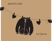 Special Order for Dianna