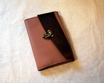 2017 Refillable Dusty Rose Leather Planner with Latch