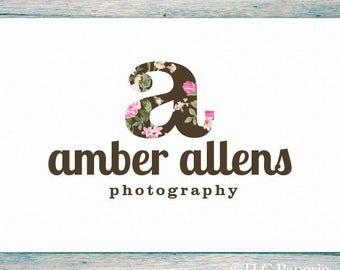 Monogram Logo Design, Custom Logo,  Soap Logo, Photography Logo, Business Logo, Floral Logo