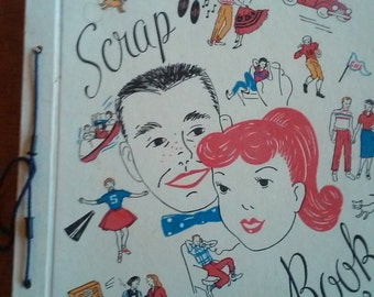 Vintage Valentines Lot Missies Scrapbook