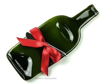 Christmas Cheese Tray, Melted Bottle Wine and Cheese Gift