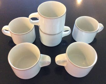Dansk Concerto Coffee Cups, Six of Them, Excellent Condition