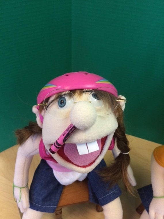 Small Jeffy's sister Puppet from SML Youtube movies
