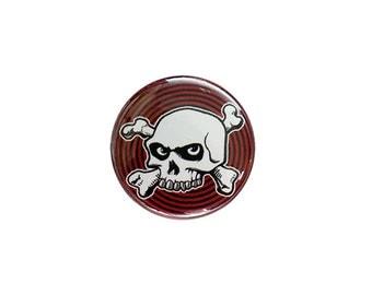 Hypno-Skull Button