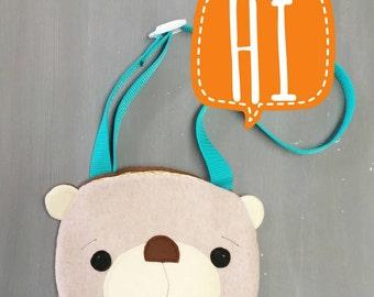 Bear Purse. Handmade, Girl, Gift