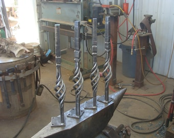 Handforged table legs