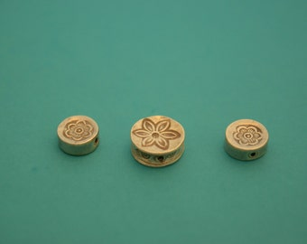 Sterling Silver Round THAILAND Charm Pendants