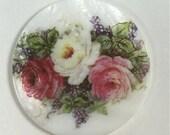 MOP Button - 3 Roses - #PR-1201