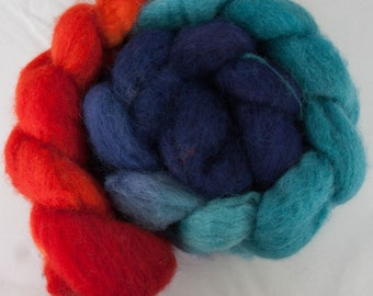 Jumping Bean - SW BFL Roving 4oz
