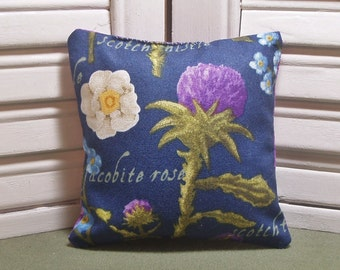 """Thistle, lavender sachet, Outlander TV show, scented lingerie drawer sachet, 4"""" by 4"""" size, 100% dried lavender for a lovely aroma"""