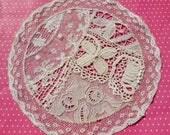 Antique Lace Vintage Lace Normandy Lace Doily Irish Crochet