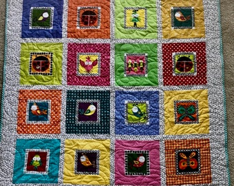 Little Animal Baby Quilt