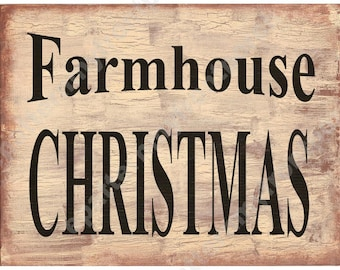 Primitive Printable Download Farmhouse Christmas Sign Print , SOOO..... EASY , ( anyone an make these ) labels for cans, jugs , jars & cards