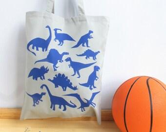 Dinosaur Print Tote Bag