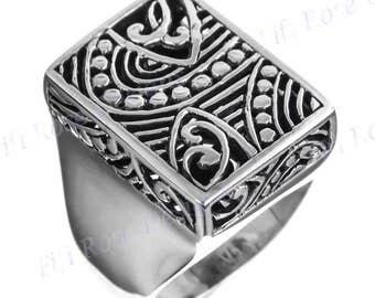 Bali Artisan Handmade 925 Sterling Silver Sz 6 Ring