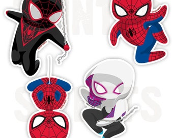 Spider-Verse Stickers