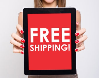 Free Worldwide Shipping on orders over 50