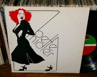 Bette Midler Vintage Vinyl Self Titled Record