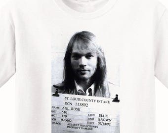 Axl Rose's Mugshot 1992 Men's T-Shirt