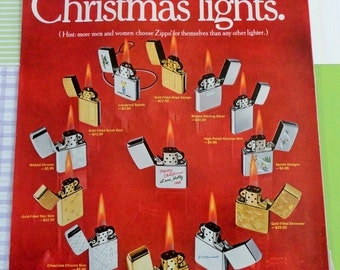 Zippo Collectors Here is a Great Ad for Provenance 1968 Christmas Offerings
