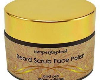 Sexy Beast BEARD SCRUB or Pre Shave Softener Organic