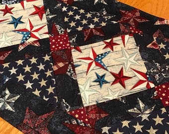Patriotic Table Runner 1