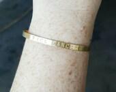 Fuck Cancer Bracelet // Cancer Jewelry // Cancer Survivor