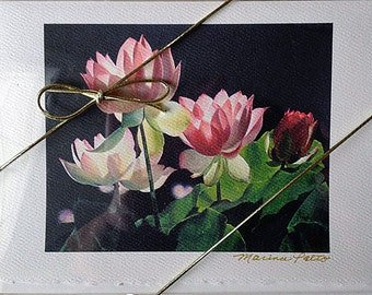 Greeting Cards Boxed, Boxed Cards, Blank Card, Flower Cards, Stationery, Fine Art Cards,