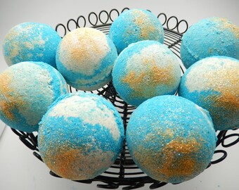Lovespell Bath Bomb, Gift, Bath Fizzy, Bath Bomb, Bath Melt, Foaming Bath Bomb, Large Bath Bomb, Victoria's Secret Dupe
