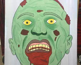 Zombie painting