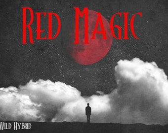 Red Magic perfume oil - 5ml - WHX red musk, magnolia, cassia, brown sugar, sweet amber, patchouli