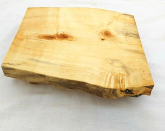 SALE!!! Rustic Wood Cake Stand, Live Edge Salvaged Wood Cake Stand, Floating Wedding Cake Stand, Boho Food Platter, Wood Chacuterie Board