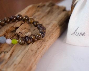 Bracelet jaspe bohème
