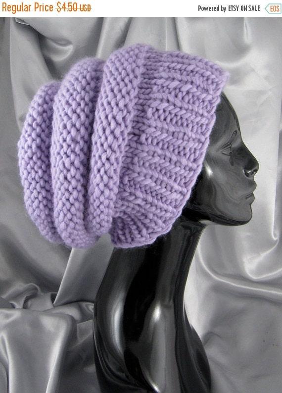 HALF PRICE SALE Digital file pdf download knitting pattern -  Superfast Beehive Slouch Hat pdf download knitting pattern