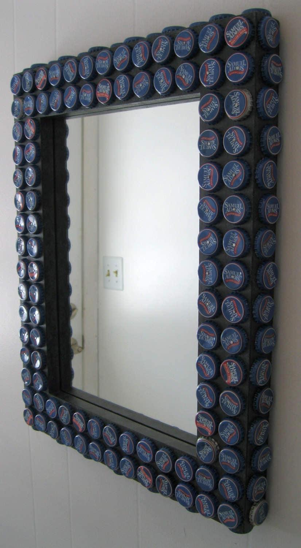 bottle cap mirror frame - 28 images - hey fish studio bottle cap ...
