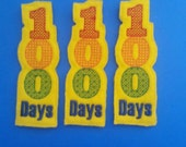 100 Days Felt Bookmark - Celebrate 100 Days of School - Non Food Treat - Allergy Class Treat