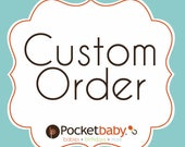 Custom Listing for Andrea W. - baby gift
