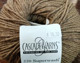 Cascade, Superwash, Wool, Worsted, Brown, 1917